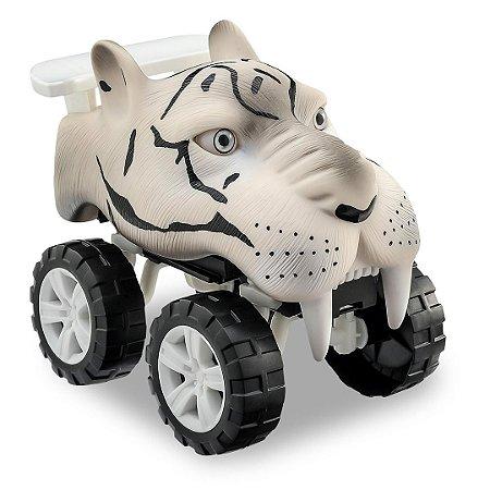 CARRINHO TIGER ANIMALS OFF ROAD COM SOM - USUAL BRINQUEDOS