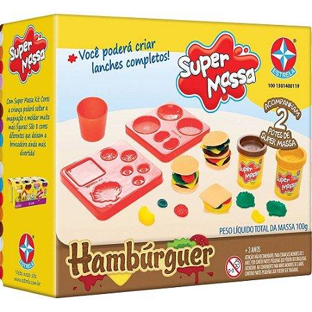 MASSINHA SUPER MASSA HAMBÚRGUER - ESTRELA