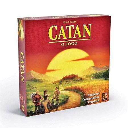 CATAN O JOGO - GROW