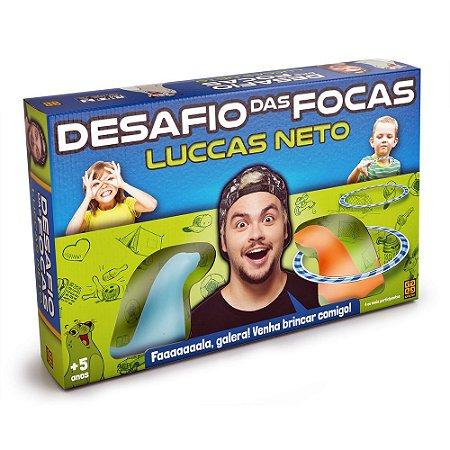 JOGO DESAFIO DAS FOCAS LUCCAS NETO - GROW