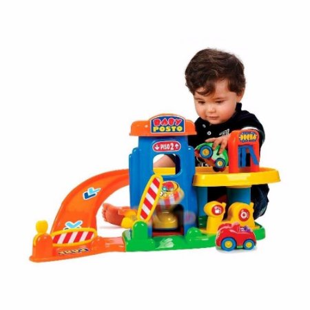 BABY POSTO INFANTIL COM CARRINHOS - BIG STAR