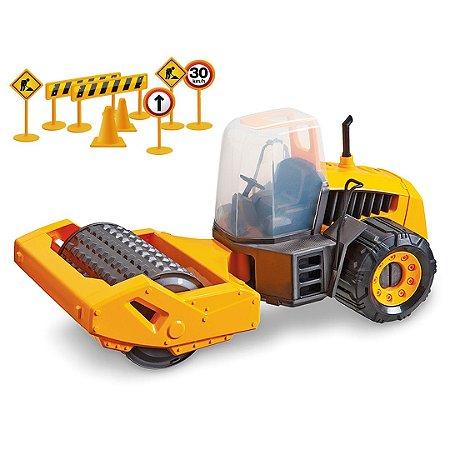 TRATOR COMPACTOR CONSTRUCTION MACHINES - USUAL BRINQUEDOS
