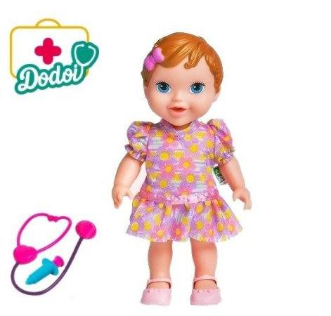 BONECA BABY'S COLLECTION DODÓI RUIVA - SUPER TOYS