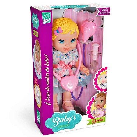 BONECA BABY'S COLLECTION DODÓI LOIRA - SUPER TOYS