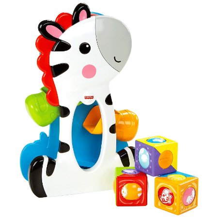 ZEBRA BLOCOS SURPRESA FISHER PRICE - MATTEL
