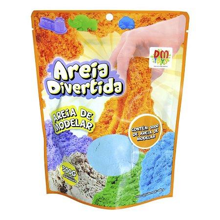 AREIA DIVERTIDA REFIL 300G - DM TOYS