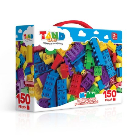 MALETA TAND KIDS 150 BLOCOS DE MONTAR - TOYSTER