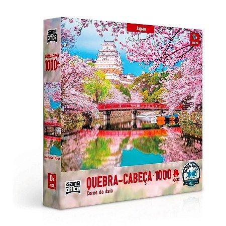 QUEBRA-CABEÇA CORES DA ÁSIA JAPÃO 1000 PEÇAS - TOYSTER