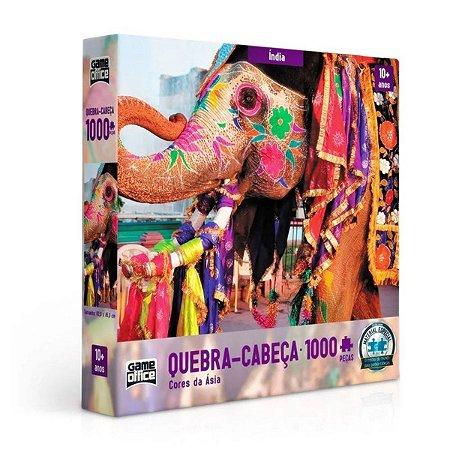 QUEBRA-CABEÇA CORES DA ÁSIA ÍNDIA 1000 PEÇAS - TOYSTER
