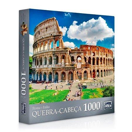 QUEBRA-CABEÇA ROMA 1000 PEÇAS - TOYSTER