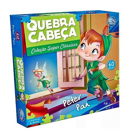 QUEBRA-CABEÇA PETER PAN 60 PEÇAS - PAIS E FILHOS