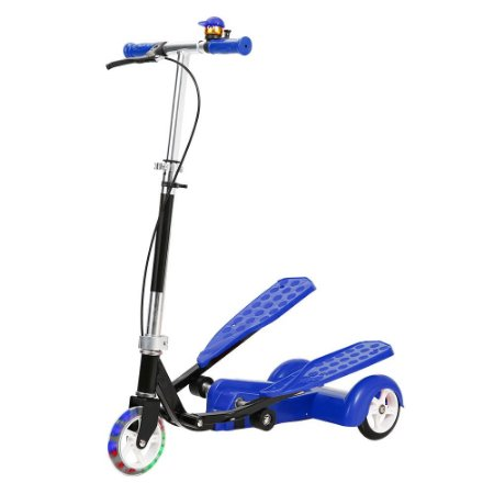 PATINETE TRANSPORT AZUL - DM TOYS