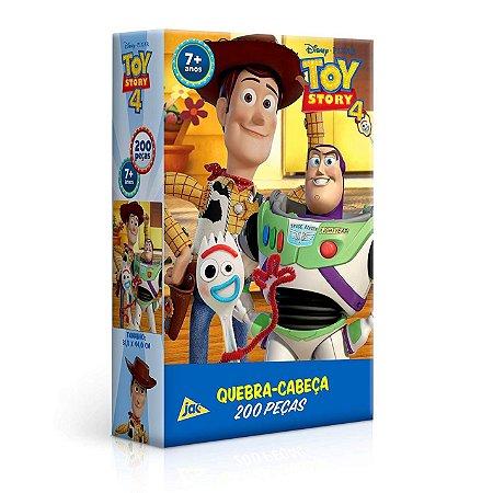 QUEBRA CABEÇA TOY STORY 4 - 200 PEÇAS - TOYSTER
