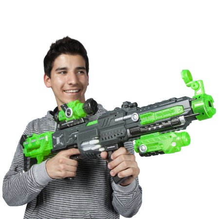 LANÇADOR SUPER SHOT POWER FLASH 002 - DM TOYS