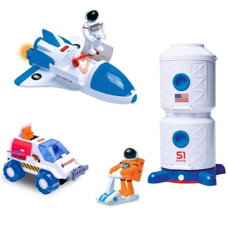 KIT ESPACIAL - ASTRONAUTAS - FUN