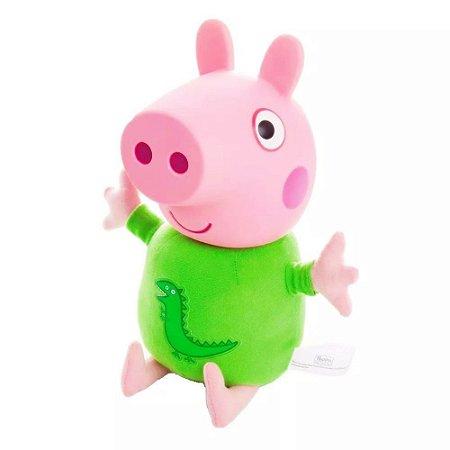 PELÚCIA GEORGE - PEPPA PIG - ESTRELA
