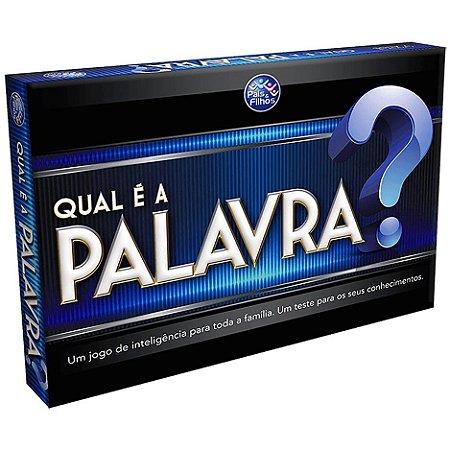 JOGO QUAL É A PALAVRA? - PAIS E FILHOS