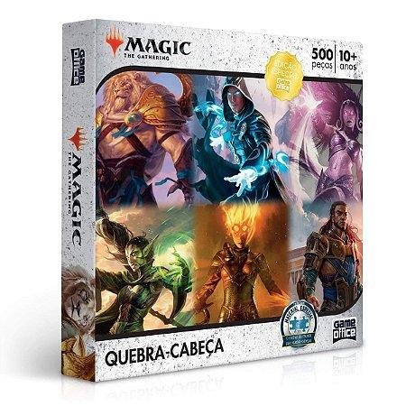 QUEBRA-CABEÇA MAGIC THE GATHERING 500 PEÇAS - TOYSTER