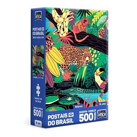 QUEBRA CABEÇA POSTAIS DO BRASIL NATUREZA - TOYSTER