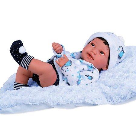 BONECO ANNY DOLL BABY MENINO - COTIPLAS