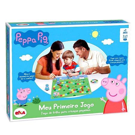 MEU PRIMEIRO JOGO PEPPA PIG - ELKA BRINQUEDOS