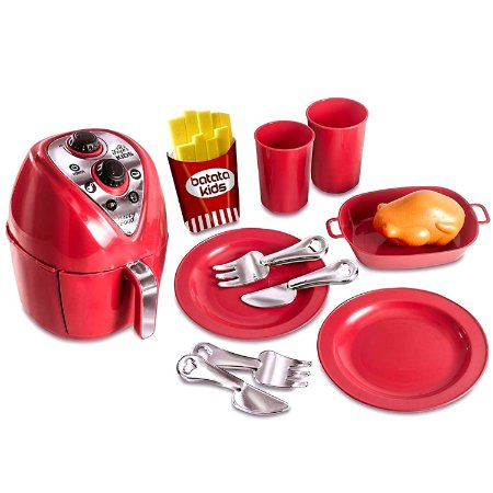 AIR FRYER CHEF KIDS - ZUCA TOYS