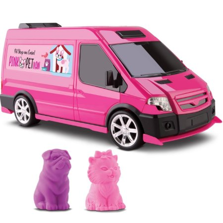 PINK PET VAN - OMG KIDS