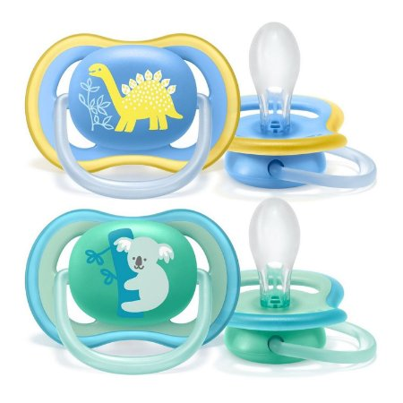 CHUPETA ULTRA AIR DUPLA 18M+ MENINO - PHILIPS AVENT