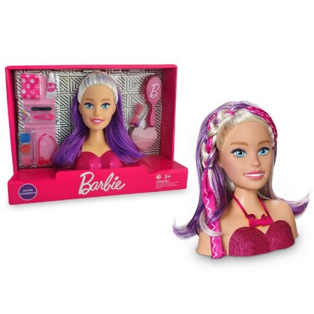 BARBIE STYLING HEAD FACES - PUPEE