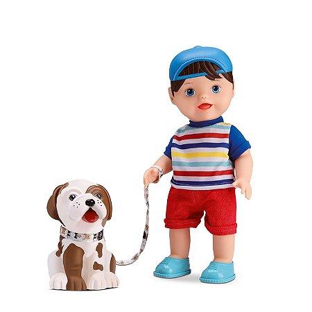 BONECO MY LITTLE COLLECTION MY PET BOY - DIVERTOYS