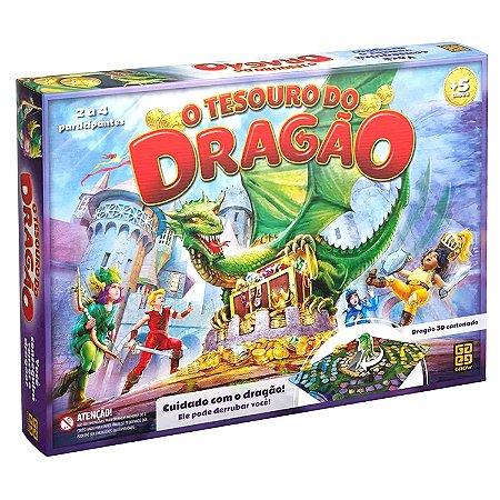 JOGO TESOURO DO DRAGÃO - GROW
