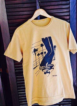 Camiseta LA Amarela