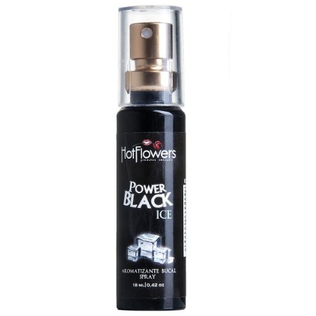 Power Black Ice Aromatizante Bucal 18ml - Hot Flowers
