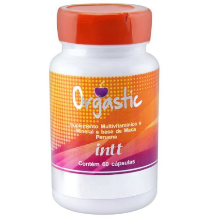 Viagra Feminino Orgastic 60 Capsulas - Intt