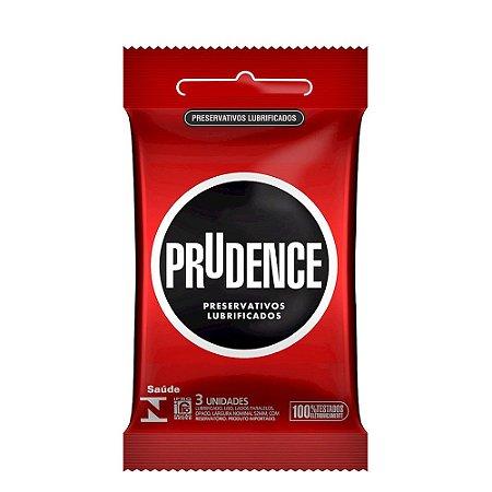 Preservativo Lubrificado Com 3 Unidades - Prudence