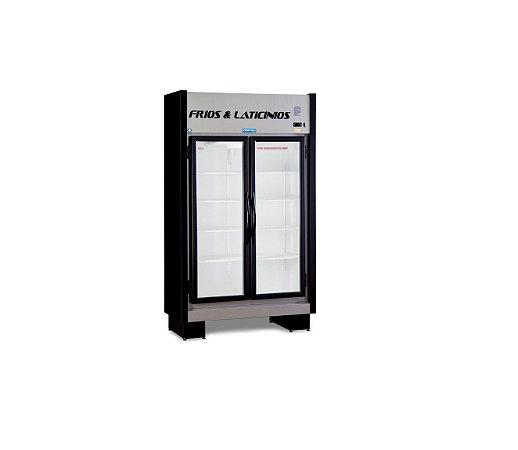 Expositor de Frios e Laticínios 2 Portas EAS 102 RT BLACK Fortsul