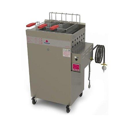 Fritador a Gás Acendimento Automático Água e Óleo 20 Litros PR-2000 BPAT Progás