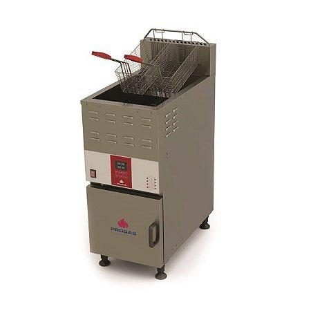 Fritador a Gás Acendimento Automático Água e Óleo 45 Litros PFAP-45 L Progás