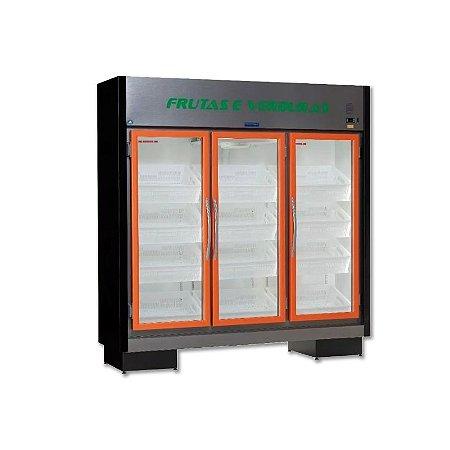 Expositor de Frutas e Verduras 3 Portas EAS 203 RT HORT Fortsul