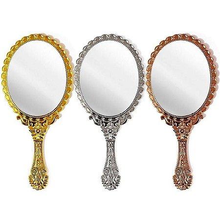 Espelho de Mão Oval Grande