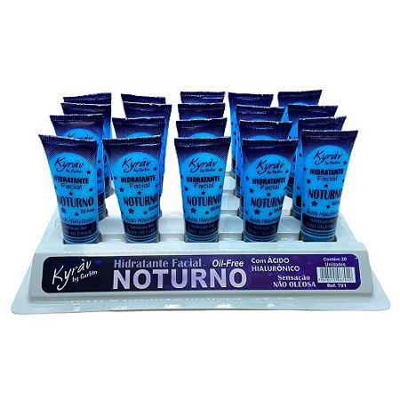 Hidratante Facial Noturno Oil Free Kyràv Atacado Box 20 Unidades