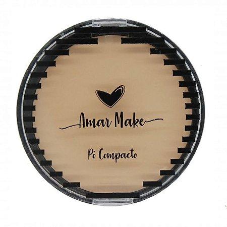 Pó Compacto Amar Make Cor 1