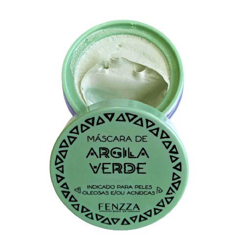 Máscara Facial de Argila Verde Fenzza FZ38027