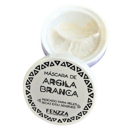 Máscara Facial de Argila Branca Fenzza FZ38025
