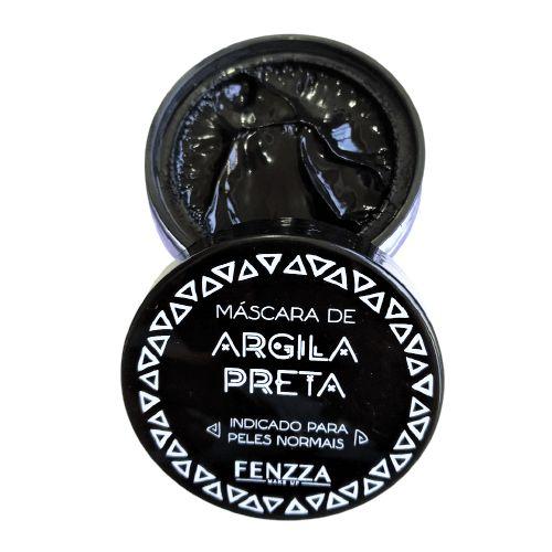 Máscara Facial de Argila Preta Fenzza FZ38026