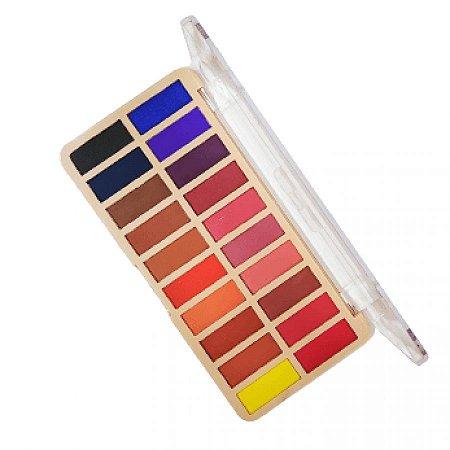 Paleta de Sombra 20 Cores Colorful Belle Angel B094