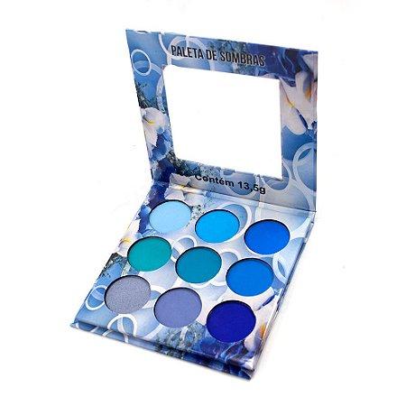 Paleta de Sombras Nuances Azul Ludurana B00004