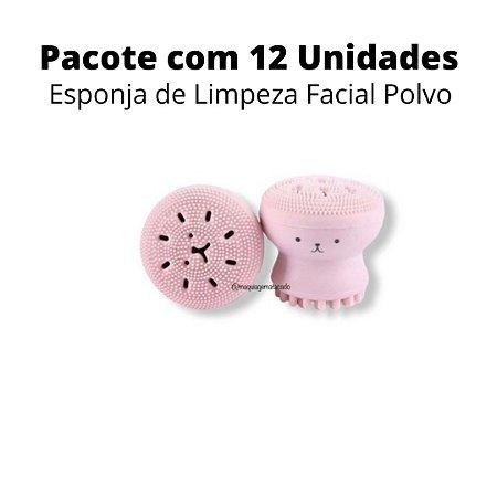 Esponja de Limpeza Facial Polvo Atacado Box 12 Unidades