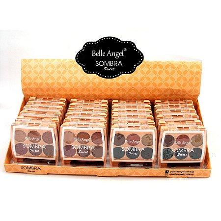 Paleta de Sombras Sweet Belle Angel B093 Atacado Box 24 Unidades