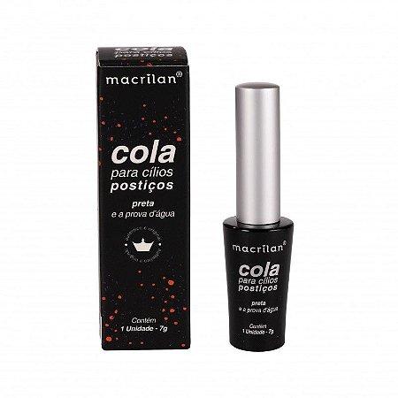 Cola para Cílios Macrilan Preta CA-002